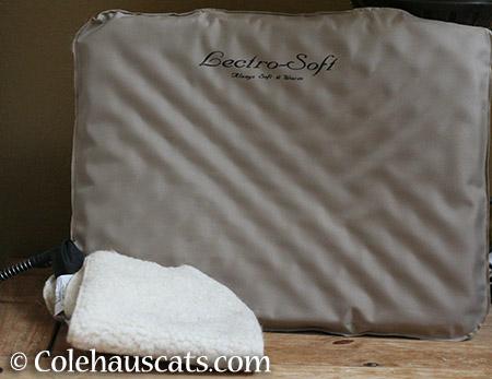 Add warm mat - 2015 © Colehauscats.com