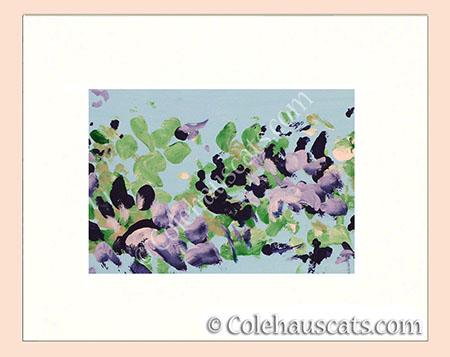 Sweet Violets by Quint - © Colehauscats.com