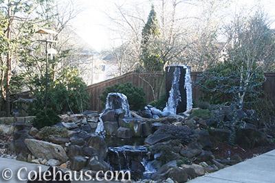 Our backyard fountain - © Colehaus.com