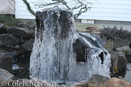 Lower portion of fountain - © Colehaus.com