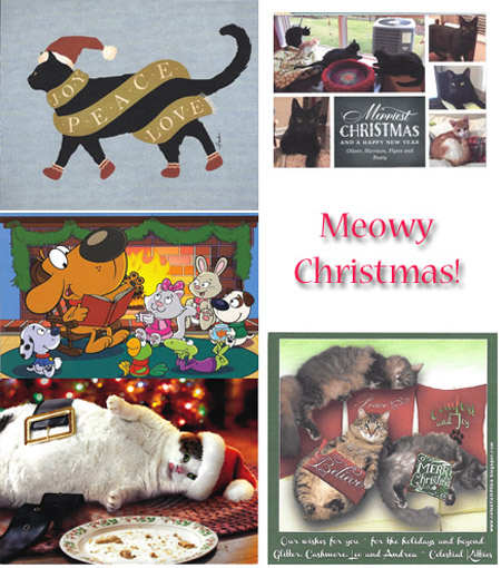 Even more beautiful Christmas Cards - © Colehauscats.com